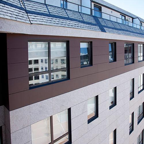 foto fachada ventilada granito