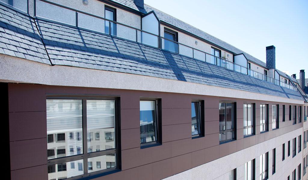 fachada ventilada granito ferrol