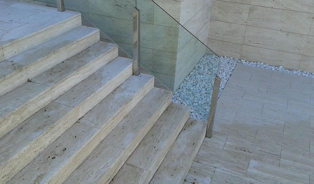 unifamiliar Mera escaleras de revestimiento