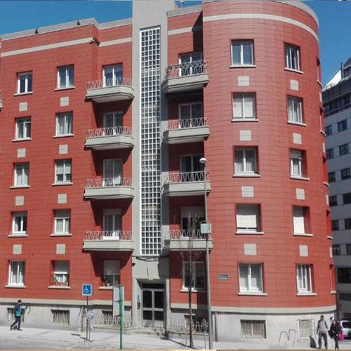 Calle Uruguay proyecto rehabilitación
