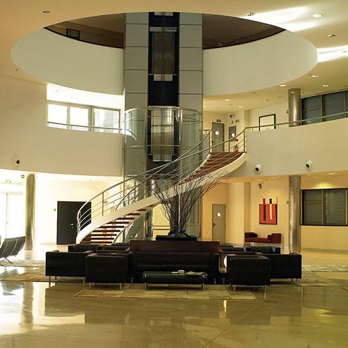hotel attica interiores