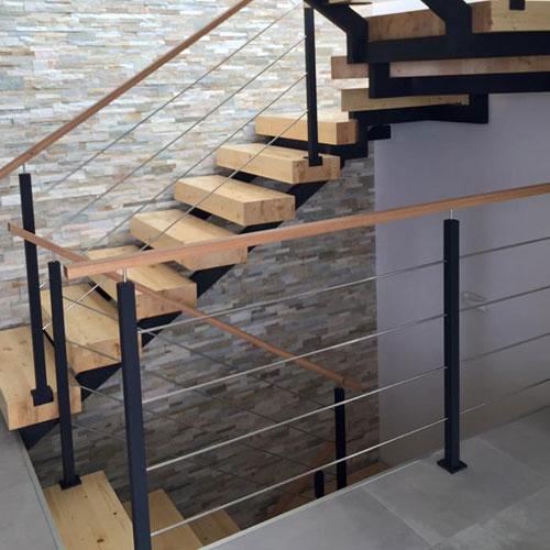 unifamiliar toxeiras escalera